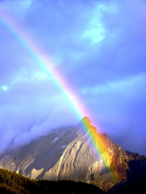 The mountain rainbow