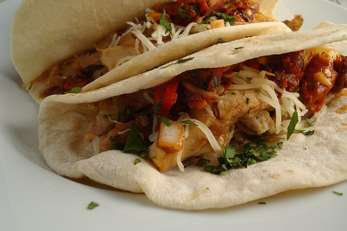 Chicken Fajitas with Slow Roasted Tomato Salsa