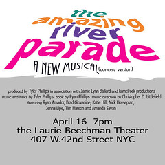 The event poster (kamelrock) Tags: theater theatre broadway musical chrislittlefield ryanphillips tylerphillips theamazingriverparade