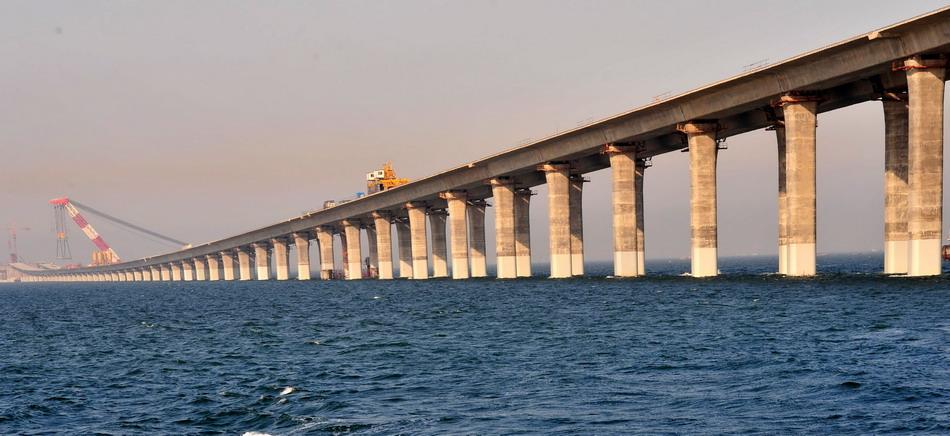 青岛海湾大桥鈥斺斒澜缱畛た绾4笄