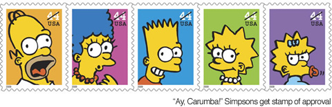simpsons stamptastic