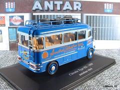 """Achat du jour (2) : collection """" TYPE H Citroën """" - No 5 (Limousin 33) Tags: model citroen citroën autobus toycar 143 diecast accordéon typeh eligor verchuren maugein typehz"""