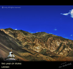 the Land of Stupas (CoSurvivor) Tags: india landscape stupa indian buddhism roadtrip monastery spirituality himalaya leh ladakh jammuandkashmir cosurvivor theunforgettablepictures