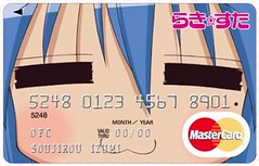 幸運星--泉此方信用咭 (oapbtommy) Tags: star card credit lucky izumi mastercard konata らき☆すた 泉此方 こなた 幸運星 泉こなた 幸運星信用咭 信用咭 萬事達 幸運星--泉此方信用咭