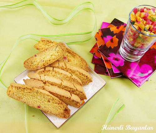 Kuru Meyveli Biscotti