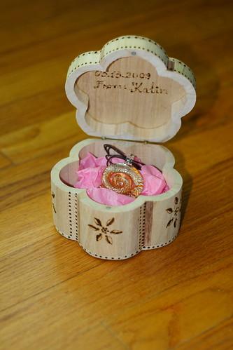 Carina's box&present