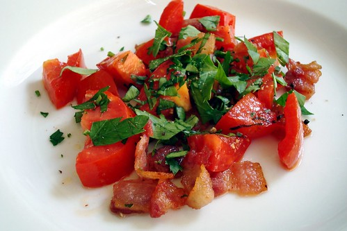 Bacon and Tomato Hash