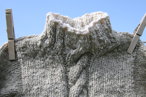 sweater detail