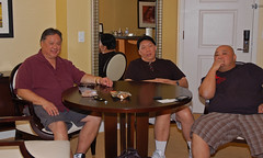 Hank, Derrick and me