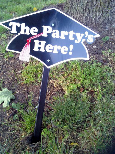 Party Sign (Click to enlarge)