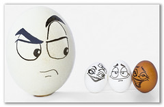 Size Doesn't Matter (RR) Tags: brincandocomacomidablog egg ovo oeuf ei yumurta huevo ostrich avestruz autruche straus devekuu face eggs emotion love size doesnt matter cartoon white oval playingwithfood playing with food humor silly fun goofy womanizer eggnizer ink drawn theeggventures ofeggbert