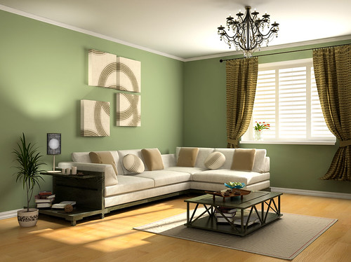 Modern Interior Design Green