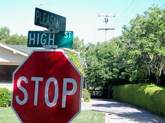 Turn Right Here (tmrae) Tags: auburn stop stopsign