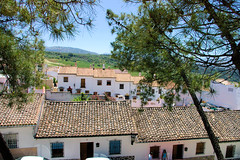 Ronda Rooftops (cwgoodroe) Tags: summer costa white hot sol beach del bells spain ancient europe churches sunny bull bullfighter adobe ronda moors walls washed clothesline protective newbridge roda bullring stonebridge oldbridge spainish whitehilltown rondah spanishdoors