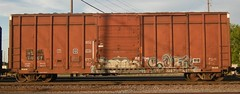 Sone - Satn (el stranger) Tags: art minnesota train graffiti fan minneapolis rail sone railfan freight railart satn