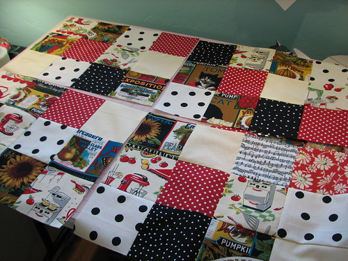 making placemats