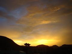 Sunset in Ukkunagaram (pakalavrl) Tags: sunset vizag ukkunagaram vizagsteelplant