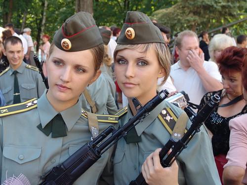 フリー画像| 戦争写真| 兵士/ソルジャー| 女性兵士| ロシア軍兵士|       フリー素材|