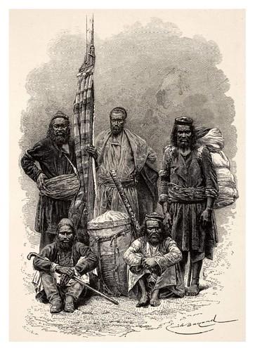023-Pahari los residentes de las estribaciones del Himalaya-La India en palabras e imágenes 1880-1881- © Universitätsbibliothek Heidelberg