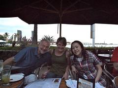 Dad, Alana, Risa