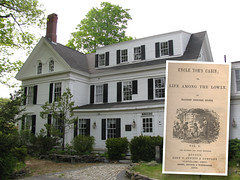 Harriet Beecher Stowe's house where Uncle Tom's Cabin was written (1852), Brunswick, Maine