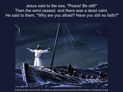Jesus Stills the Storm