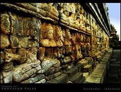 Temple of Thousand Tales (khaniv13) Tags: stone indonesia temple ancient nikon buddha stupa carving relief borobudur magelang candi centraljava d40x khaniv13