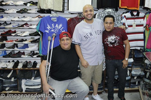 David y Saint Hilaire con Chico Boutique