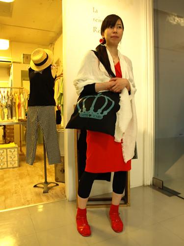 Fukuko at la reine Reinette Osaka