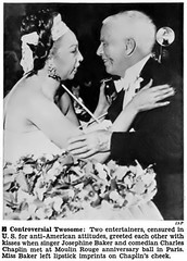Controversial Duo, Josephine Baker and Charlie Chaplin in Paris - Jet Magazine, June 4, 1953 (vieilles_annonces) Tags: old people usa black paris history vintage magazine print scans fifties photos african negro retro ephemera nostalgia photographs american 1950s americana colored 50s magazines moulinrouge articles folks oldphotos civilrights newsclipping blackhistory josephinebaker 1953 vintagephotos africans charliechaplin africanamericanhistory negroes peopleofcolor vintagephotographs charleschaplin vintagemagazine coloredpeople negrohistory coloredfolk blacknews