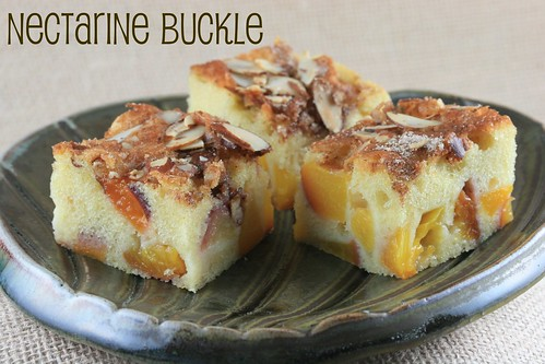 Nectarine Buckle (Peach Buckle by Everyday Food)