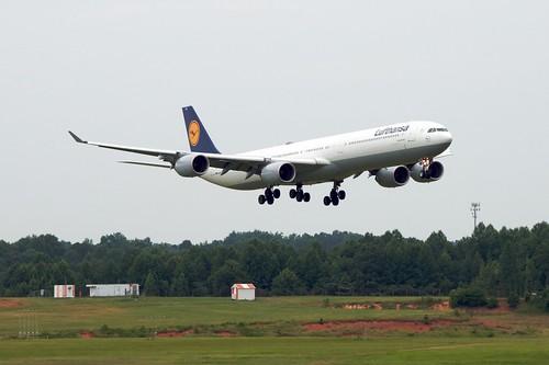 A340-600 de Lufthansa