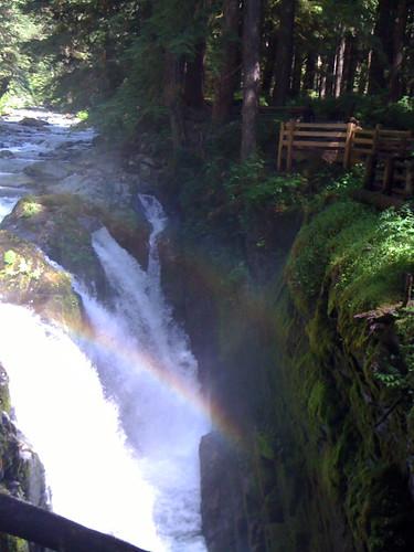 Y at Sol Duc Falls