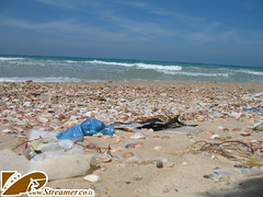 IMG_5396 (Streamer -  ) Tags: cliff beach israel erosion  polution   ashkelon