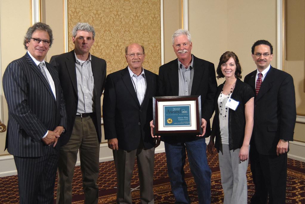 2010 Environmental Awards: Mercer Wines Estates LLC, Prosser