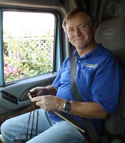 Tom the Knitting Trucker