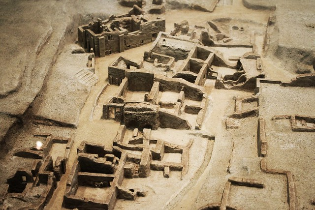 Akrotiri of Santorini (model)
