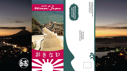 Okinawa Travel Brochure Back