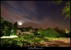 (Le***Refs *PHOTOGRAPHIE*) Tags: longexposure light sky moon night clouds lune stars nikon ciel nuage nuit mouvement etoiles vitesse longueexposition d90 grandangle poselongue 1024mm lerefs