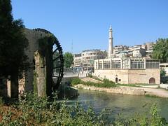 Noria and Hama (yas784) Tags: old city river east syria middle orient hama asi  norias syrie orontes moyen suriye   hamah        oronte