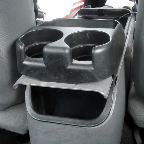 Laughing cupholder
