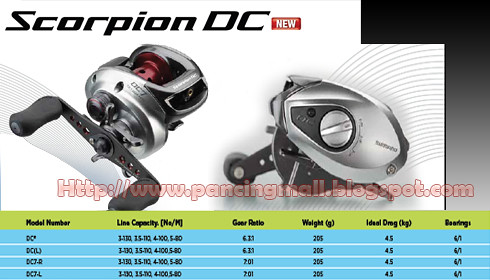 *NEW* Shimano Scorpion DC 2011/2012