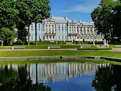 Catherines Palace (werner boehm *) Tags: palace catherine pushkin peterhof wernerboehm
