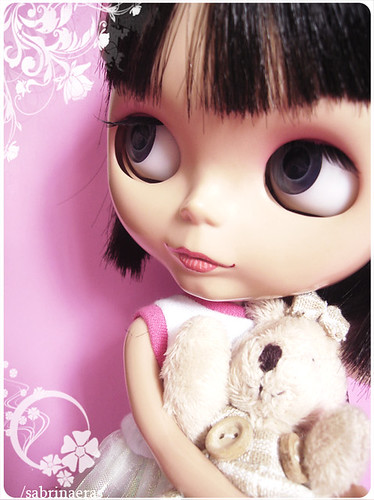 My pink girl by Sabrina Eras.