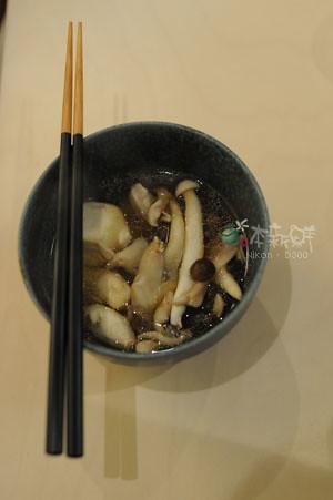 各種菇纇雞湯