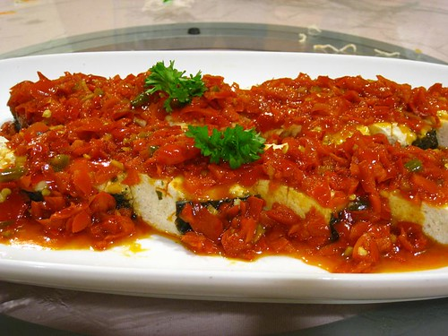 Spicy Pan-Fried Vegetarian Cod