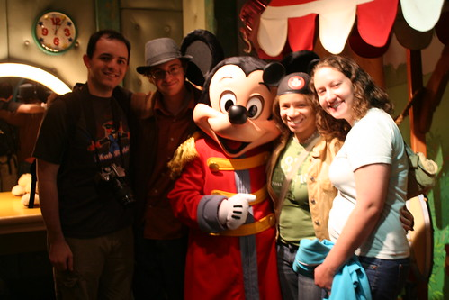 Meeting Conductor Mickey!
