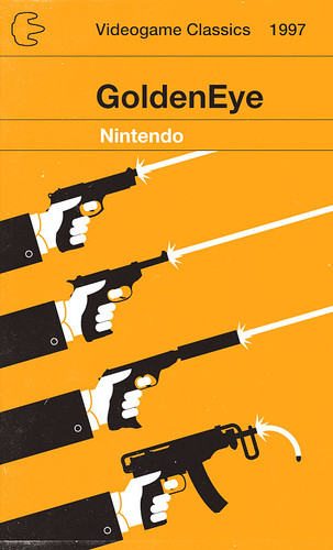 GoldenEye by Olly Moss