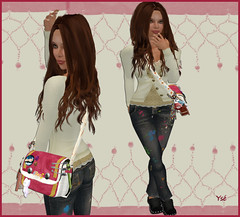 Fashion victim casual (Ys Ah) Tags: secondlife dskin shopseu pinkoutfitters timelessagency fashionsladdict houseoflondon