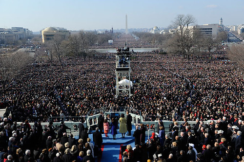 Inauguration Day 2009: President Obama takes oath by USA TODAY.